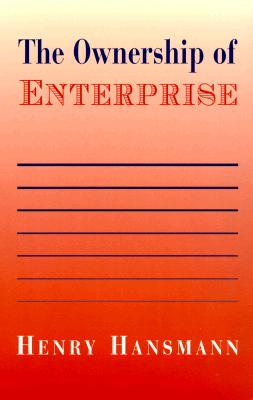 The Ownership of Enterprise By Hansmann, Henry
